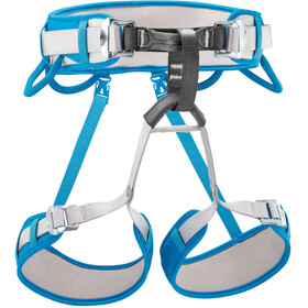 Petzl Corax Cintura da arrampicata, methyl blue